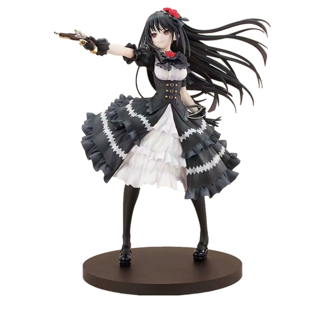 Anime Date A Live Nightmare Tokisaki Kurumi Action Figure Fantasia 30th Anniversary Figurine PVC Model Doll Girl Gift Toys PM