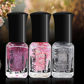 1 Bottle Fashion Color Changing Thermal Nail Polish Peel Off Varnish Beauty