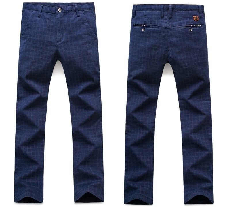 HTB176.ObhrvK1RjSszeq6yObFXaw 2019 New Pants Men Spring Summer Fashion Commerce Casual Pants Men Straight Business Suit Trousers brand Mens Pant Size 38