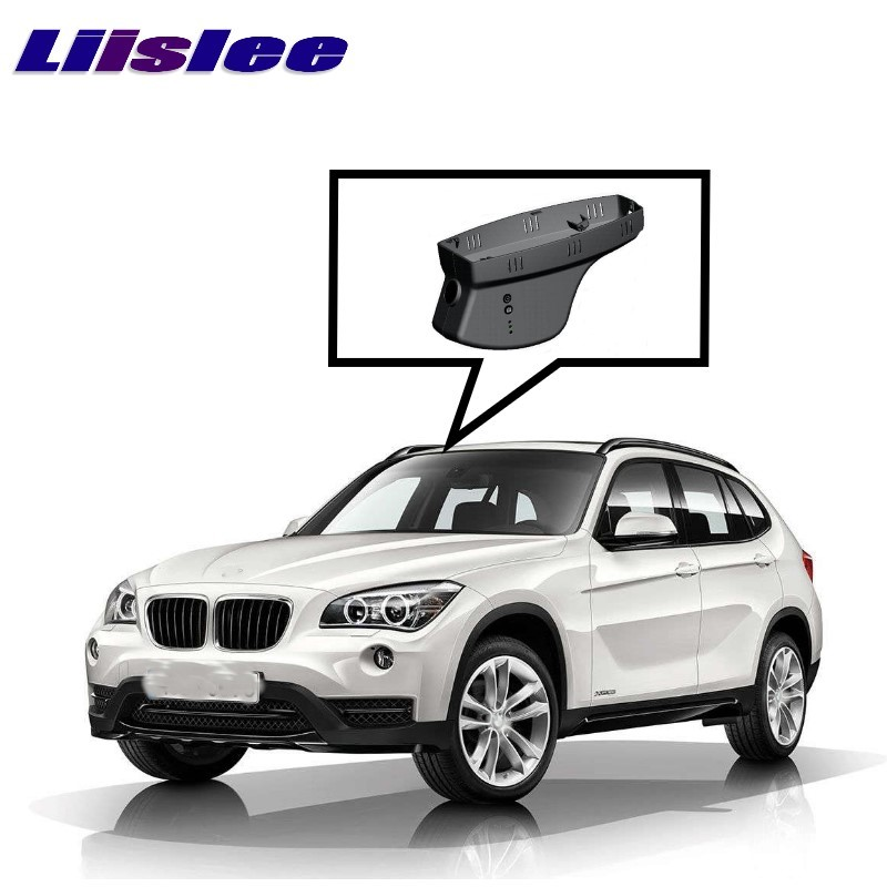 LiisLee Car Black Box WiFi DVR Dash Camera Driving Video Recorder For BMW X1 E84 X5 F15 X6 E71 E72 2008~2015 for bmw x3 x1 2015 driving recorder car dvr mini wifi camera full hd 1080p car dash cam video recorder original style black box