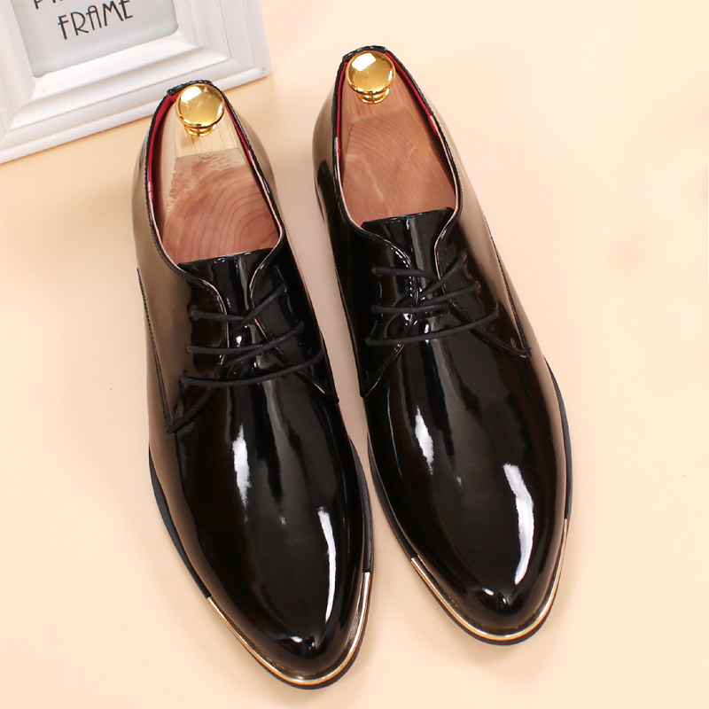 Mens Patent Leather Shoes With Suit