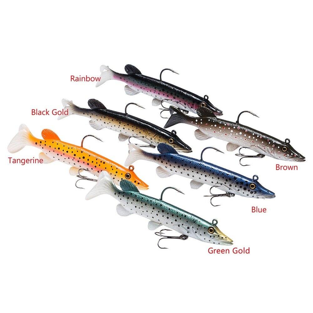 True Pike Soft Swimbait Saltwater Bass Fishing Lure