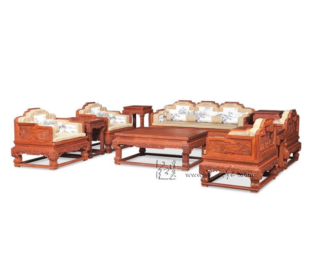 Nuevo Estilo Chino Cl Sico Sof Cama Muebles Real Rosewood Silla  # Muebles Nuevo Estilo
