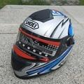 2016 New SHOEI Racing helmet Modular Dual lens Motorcycle Helmet full face Safe helmets Casco capacete casque 776