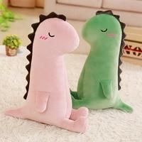 40/60/80 cm Dinosaur Plush Toy Cushion & Pillow Stuffed Animal Toys for Children New Born Baby Gift Bedroom Decoration