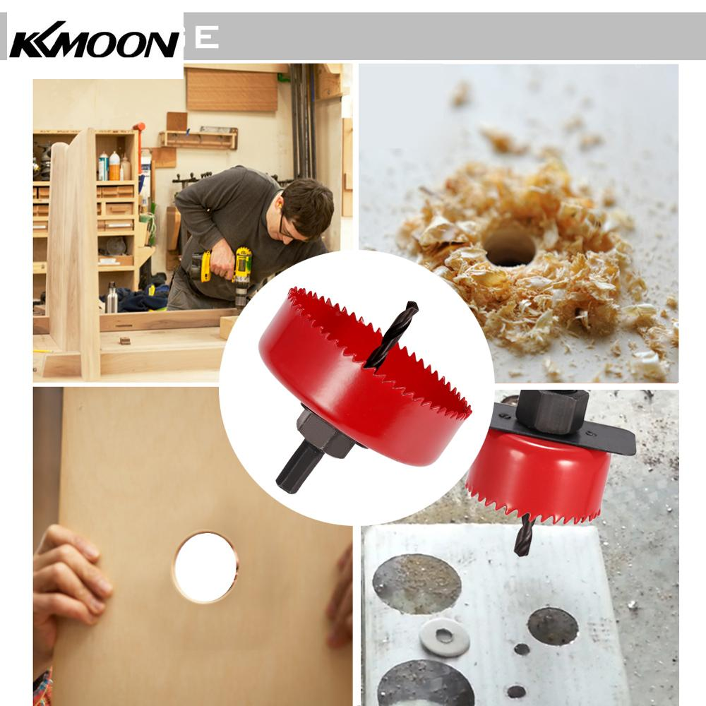 9pcs Hole Saw Cutting Set Kit Drilling Tool Wood Metal Cutter Hole Saw Set Cutter Drill Bits Core Drill Bits Woodworking 51-89mm 3pcs 75mm 2 953in bi metal hole saw power tool metal drilling wood hole saw wood tool woodworking buy 2 more favorable