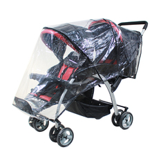 Twin baby stroller accessories rain cover