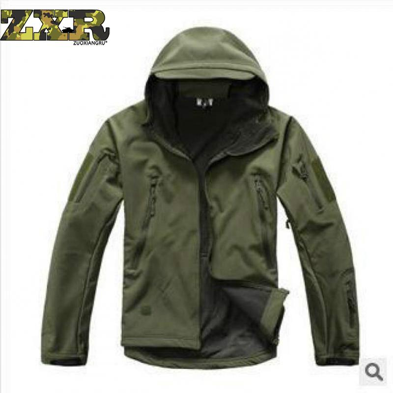 Zuoxiangru Lurker Shark Skin Softshell V5 Military Tactical Jacket Men Waterproof Coat Camouflage Hooded Army Camo Clothing ...