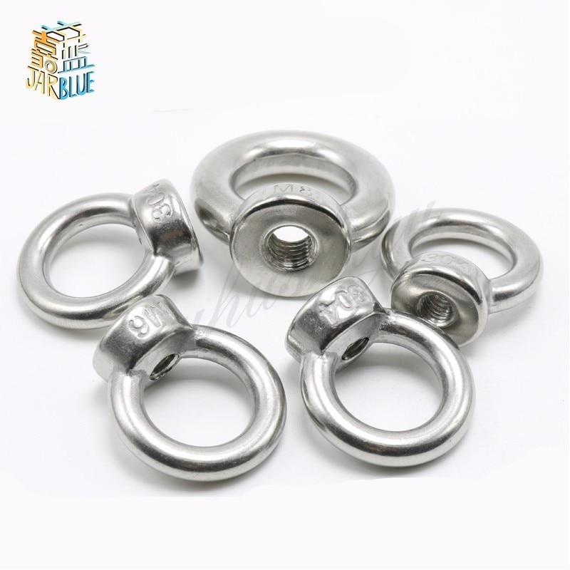 1PCS TJBH 304 Stainless Steel Eyenut M301PCS TJBH 304 Stainless Steel Eyenut M30