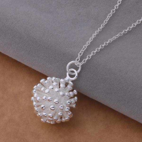 Silver Plated Necklace Fine Fashion Cute Silver Jewelry Necklace Chains Pendant Top Quality
