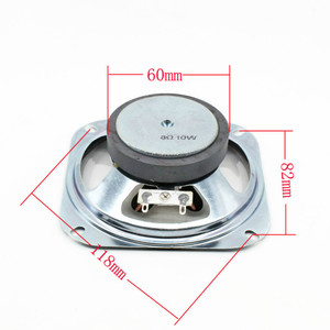 Image 5 - Tenghong 1pcs 4 Inch Draagbare Audio Speaker 8Ohm 10W 102MM Transparante Waterdichte Luidspreker Anti diefstal elektronische Luidspreker