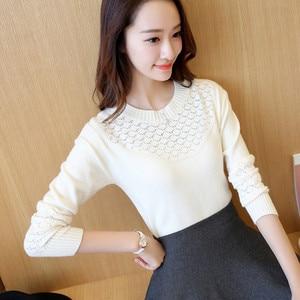 Image 5 - OHCLOTHING เสื้อกันหนาวหญิงหญิง Pullovers ฤดูใบไม้ผลิ 2019 สไตล์ใหม่ Slim เสื้อกันหนาวแขนยาวและ Slim สไตล์