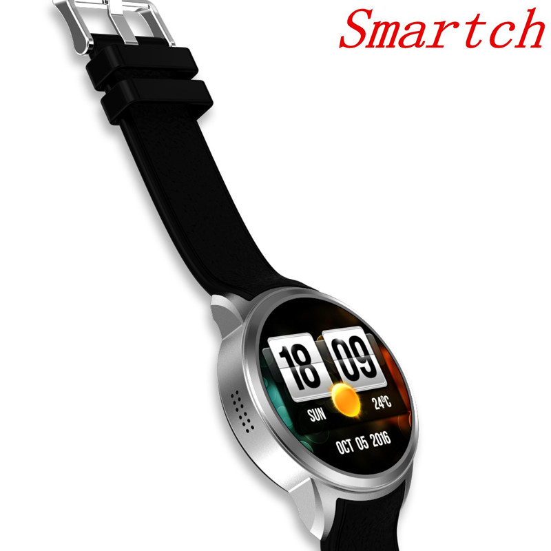 Smartch X200 Android 5.1 Smartwatch 1G+16G Support 3G wifi GPS Nano SIM card MTK6580 Heart Rate Monitor Smart Watch with Camera