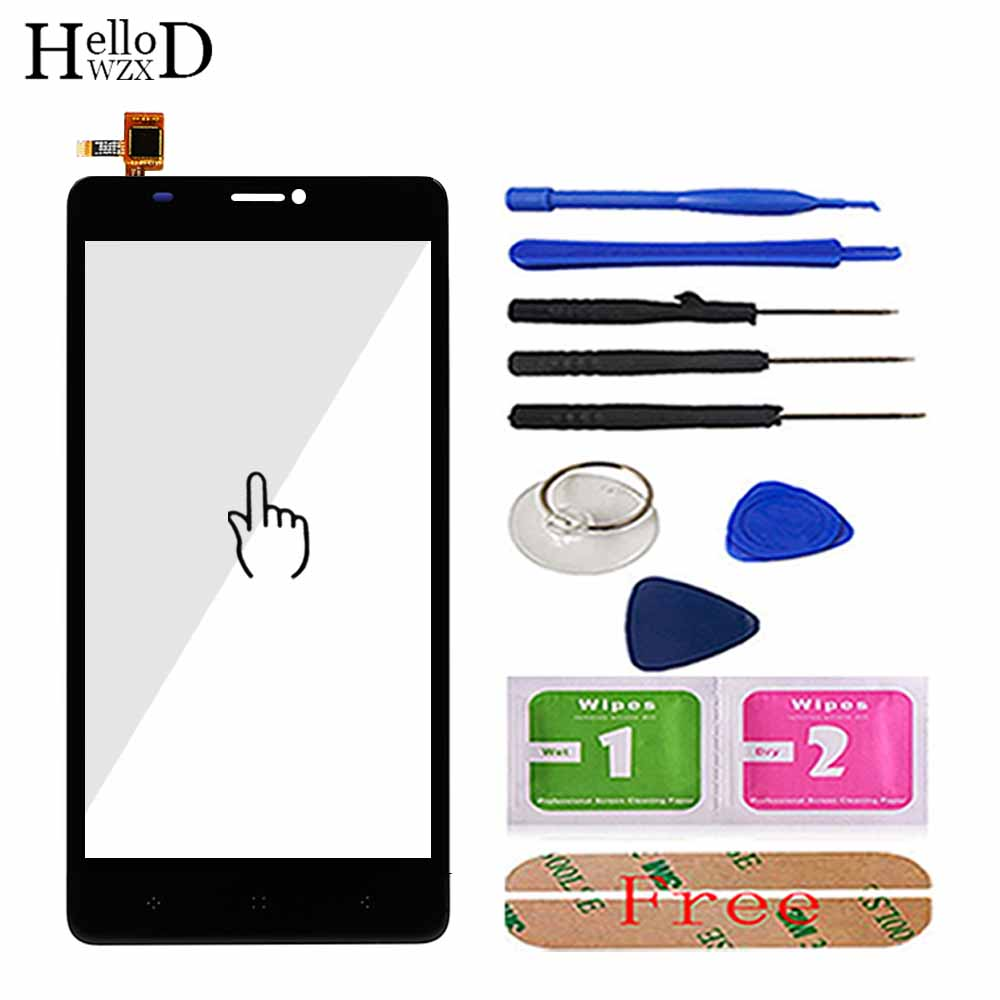 6inch Mobile Phone Touch Screen TouchScreen For Elephone C1 Max Touch Glass Front Glass Digitizer Panel Lens Sensor 3M Glue