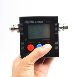 Image 3 - Доставка из Москвы! ANYSECU SW 102 125 520 мГц цифровой VHF/UHF Мощность и КСВ метр SW102 для портативных радиостанций UV 82 UV82