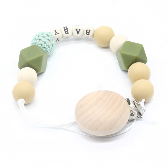 Wooden Holder for Pacifier