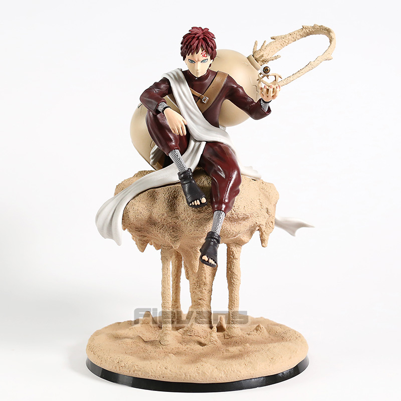 Naruto Shippuden Gaara Sitting on Sand Ver. Statue PVC Figure Collectible Model Toy