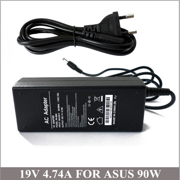 19V 4.74A 90W AC Adapter With Laptop Charger Plug For Computer Asus X53S X56S X58Le X58C X59 X59SR
