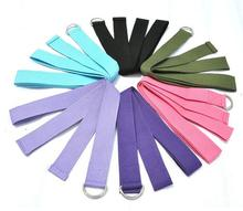 183×3.8CM Cotton Yoga Belt Yoga Stretch Belt Fitness Training Equipment Free Shipping