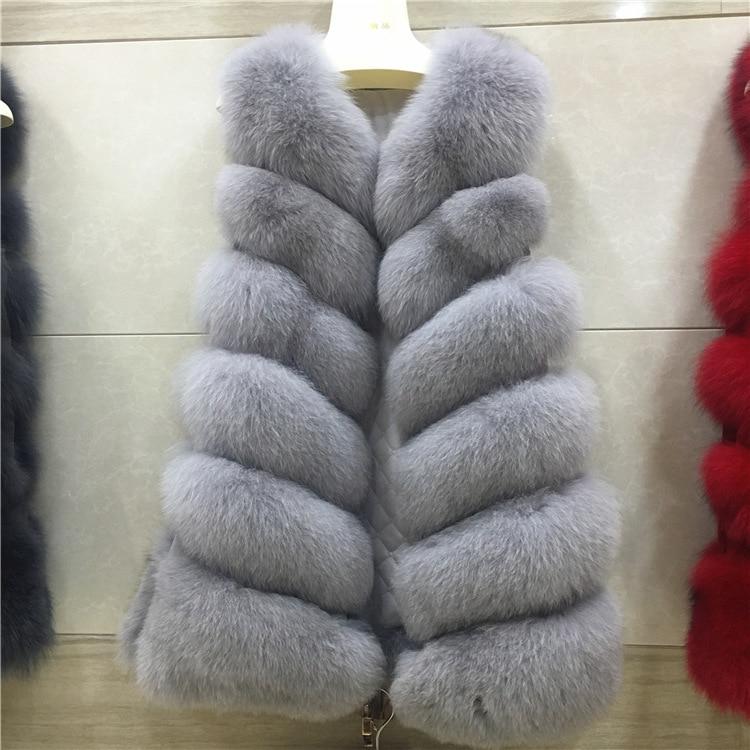 2016 New Arrival Winter Warm Fashion Women Import Coat Fur Vest High Grade Faux Fur Coat