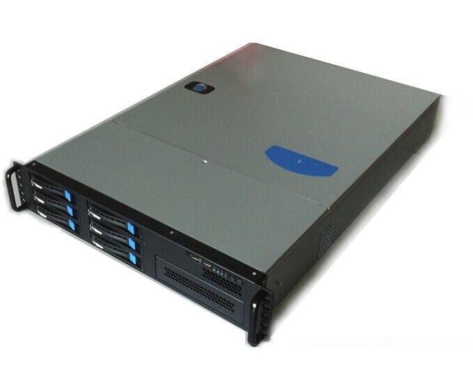 Новый 2UGX2006 hot plug 6 диска сервера деревянный ящик промышленного управления ящик для хранения Горячая SATA3 объединительная панель