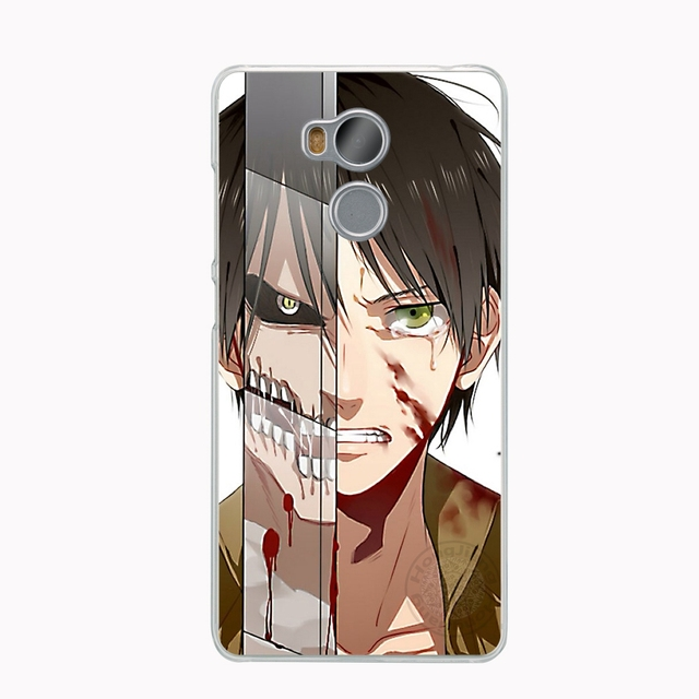 Anime Attack on Titan Cover phone  Case for Xiaomi redmi 4 1 1s 2 3 3s  pro note 4 4X 4A 5A
