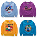 Cartoon 6 8 Baby Boys Girls Kids Coat Hoodie Jacket Sweater Pullover Outwear