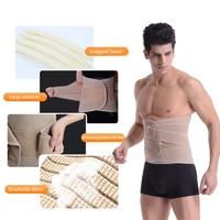 Sweat Gym Belt Posture Corrector Widened Back Belt With 4 PCS Medical Cartilage Sport Accessories Unisex Slimming Modeling Strap