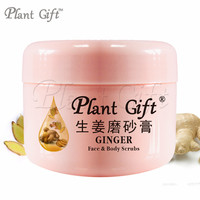 GINGER Face & Body Scrubs 100G Remove the old horny Care of feet, moist and smooth, improve the foot skin dry.