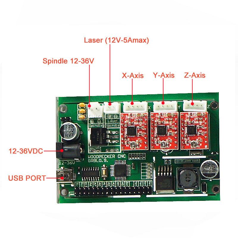 Mini Cnc 3018 Pro Laser 500mw Engraving Machine Pcb