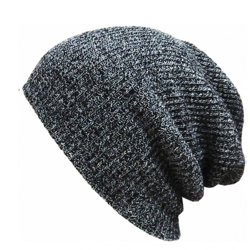 d59543e0 Brand Bonnet Beanies Knitted Winter Hat Caps Skullies Winter Hats For Women Men  Beanie Warm Baggy Cap Wool Gorros Touca Hat 2018