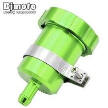BJMOTO Motorcycle Brake Fluid Reservoir For Kawasaki Z800 Z750 Z900 Z1000 ER6N NINJA 250 300 Clutch Tank Oil Fluid Cup