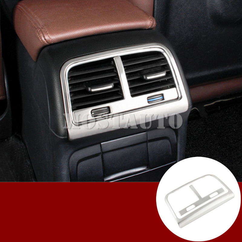 For Audi Q5 8R Interior Console Rear Air Vent Outlet Trim