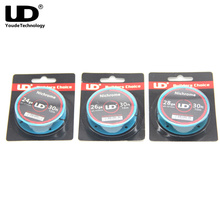 Original Ni80 Heating Wire Youde Nichrome Wire 30ft 10m/roll 24ga 26ga 28ga  For RDA RBA Atomizer