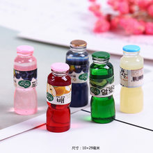 5PCS 1:12 Scale Miniature Dollhouse Drink Bottle Mini Food Play Doll House Children Kitchen Toys(China)