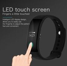 Smartch Новинка монитор сердечного ритма Bluetooth фитнес-умный Браслет для HTC Samsung S7 iPhone 7 V66 Смарт в наличии