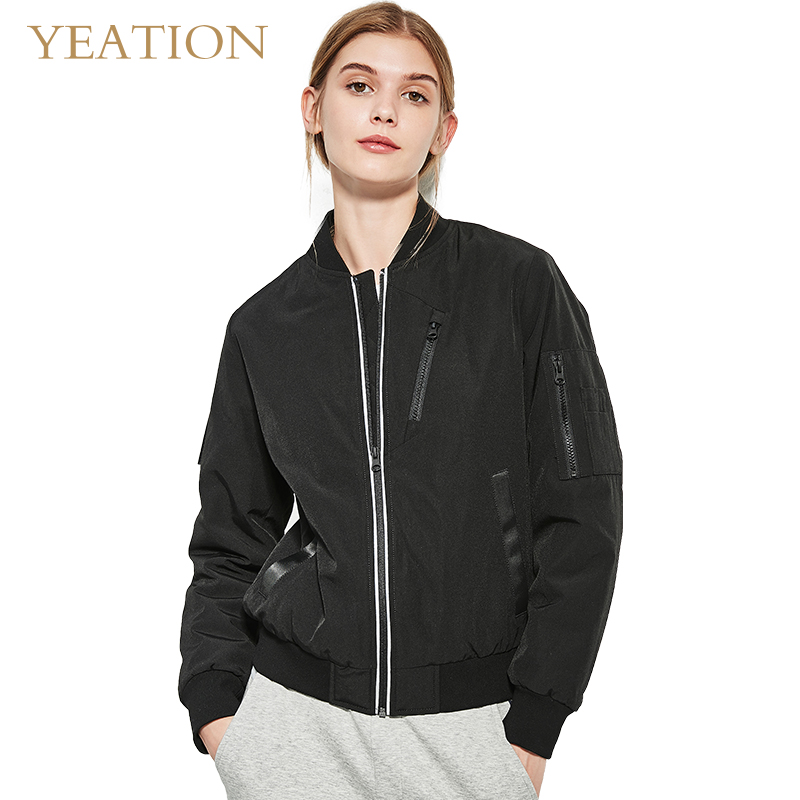 YEATION   Basic     Jackets   Female Winter Plus Velvet Coats Cotton   Jacket   Women Outwear