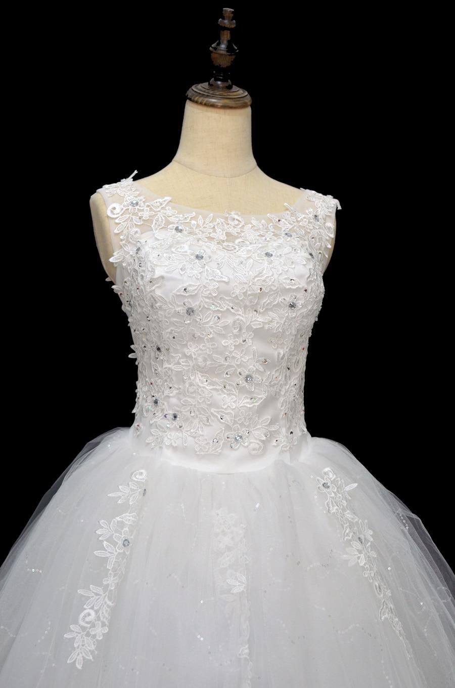 Koreanska Snörningsklänning Kvalitets Bröllopsklänningar 2018 - Bröllopsklänningar - Foto 2