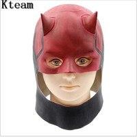 Hoogwaardige De Flash Masker Halloween Volwassen Latex Vol Hoofd Masker film Thema Cosplay Speelgoed Props Party Fancy Dress Hero Masker speelgoed