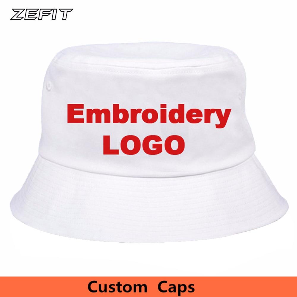 Kšiltovky s vlastním kbelíkem Malá objednávka 10ks OEM Vyšívané tištěné Logo 100% bavlna Kvalitní čepice Nízká MOQ Vlastní kbelíková čepice