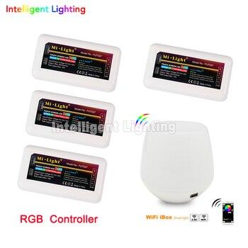 2.4g 4pcs led RGB controller + 2.4g wifi box