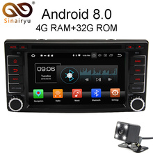 Sinairyu Android 8.0 8 Core 4G RAM Car DVD GPS For Subaru Forester Impreza 2008 2009 2010 2011 WIFI Autoradio Multimedia Stereo