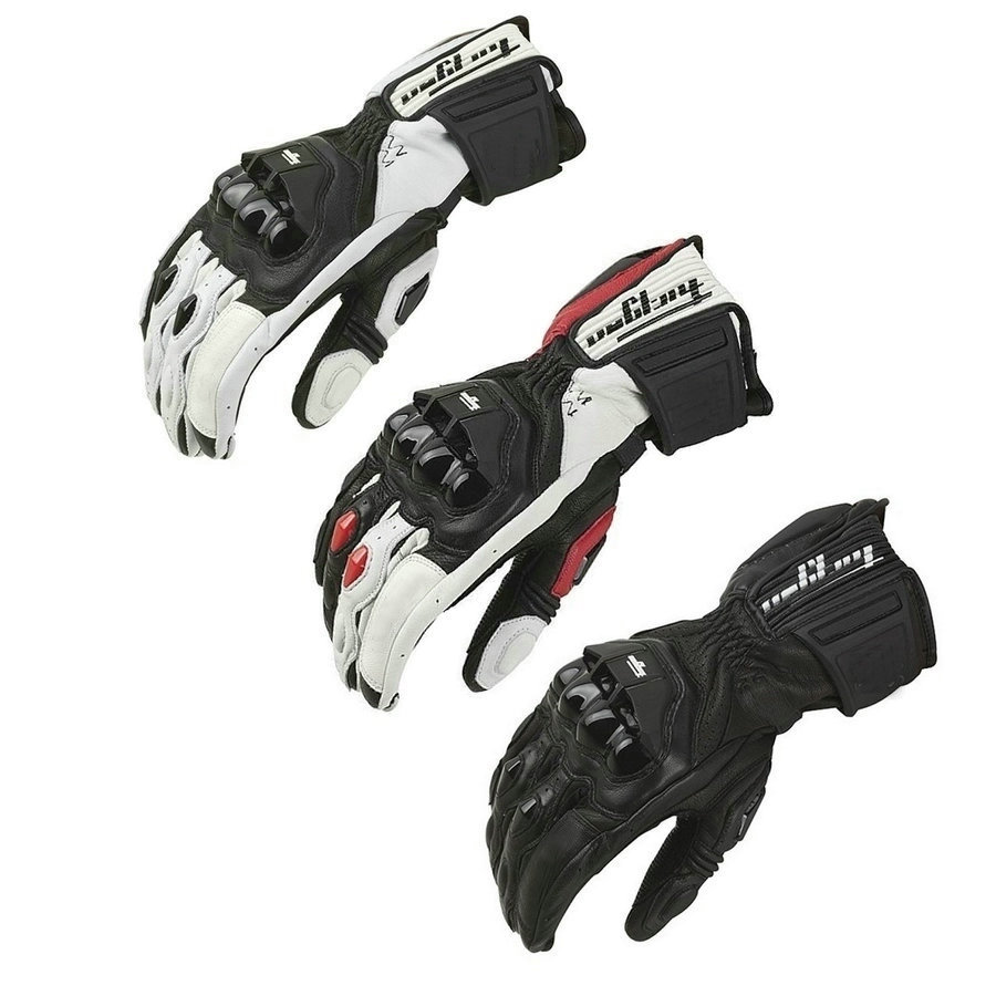 Motorcycle Gloves GP PRO Real Genuine Leather Gloves Full Finger Windproof Gloves Motocross Off Road Sports