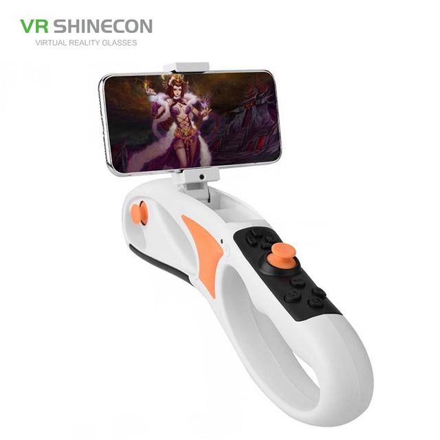 VR Shinecon Smart Somatosensory AR Gun Pistol Bluetooth Handle Phone Game Augmented Reality Accurate Shooting Decompression Toys