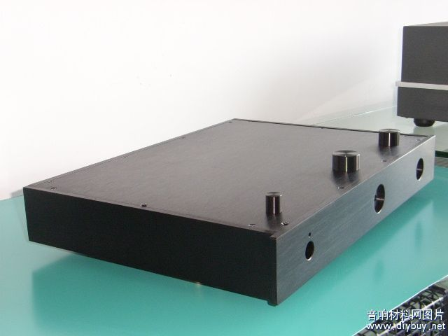 Black All-Aluminum Tube Rear Amplifier Chassis / AMP Shell / Case / DIY BOX (435 * 60 * 310mm)Black All-Aluminum Tube Rear Amplifier Chassis / AMP Shell / Case / DIY BOX (435 * 60 * 310mm)