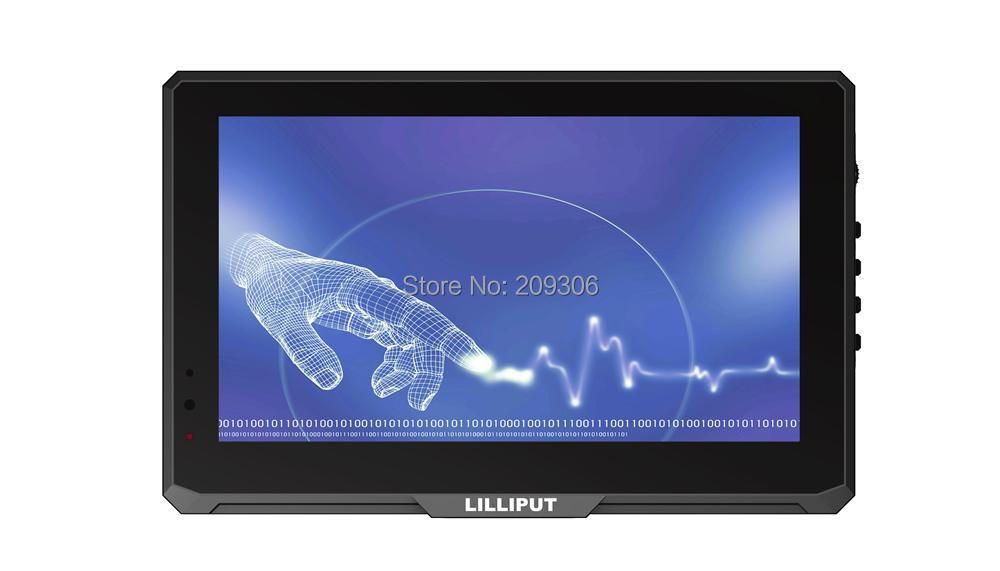 Lilliput 779gl-70np/c/t 7 Capacitive Multi Touch Screen Led Hdmi Monitor With Av Vga Hdmi Input 10 Point Touch Hd Monitor i/o Lustrous Surface Laptop Lcd Screen