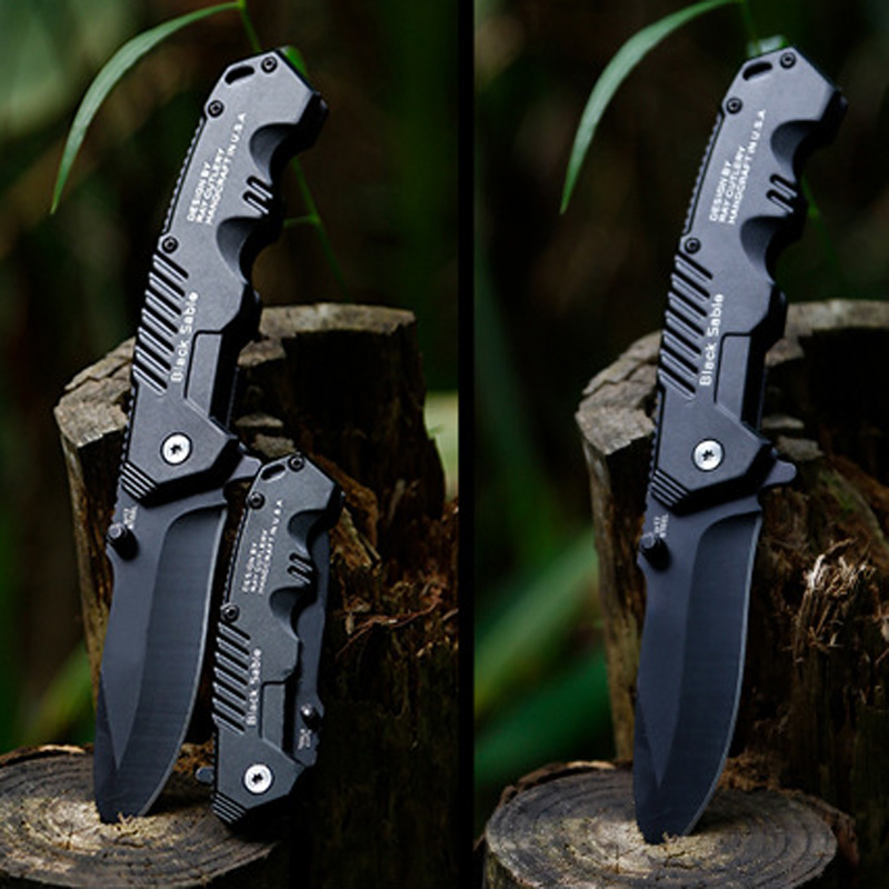 Image 3 - Hot Outdoor Tactical High Hardness Knife Wild Survival Multi function Folding Knife Hunting Self defense Outdoor Knives-in Outdoor Tools from Sports & Entertainment