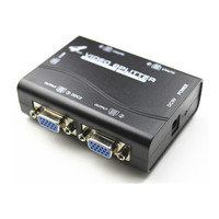 High Quanity 1 To 4 Ports VGA Video Splitter Duplicator 1 In 4 Out 250MHz Device