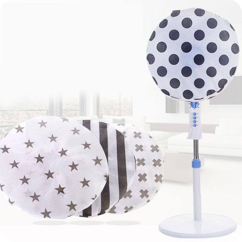 1pcs Non-woven Electric Fan Dust Cover Fan Accessories Fan Guard Home Storage Supplies Round Dustproof Covers Protective Cap