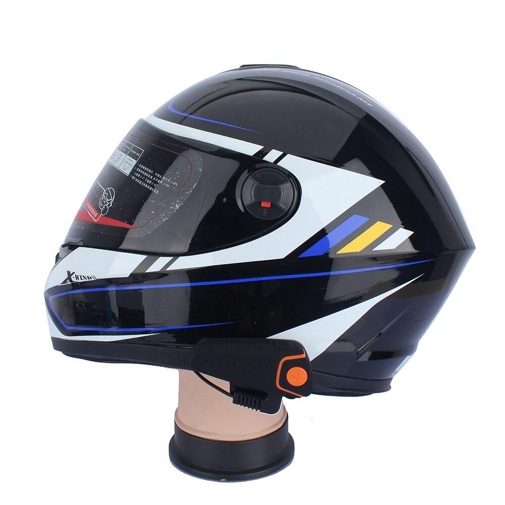 Sports nautiques BT-S2 Pro Interphone Moto Casque Casque étanche bluetooth sans FIL BT Interphone FM Radio Stéréo musique - 5